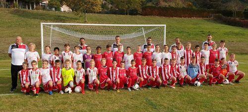 Plateau Équipe U10/U11 Équipe B à Rives 2   ( Moirans  & LCA)