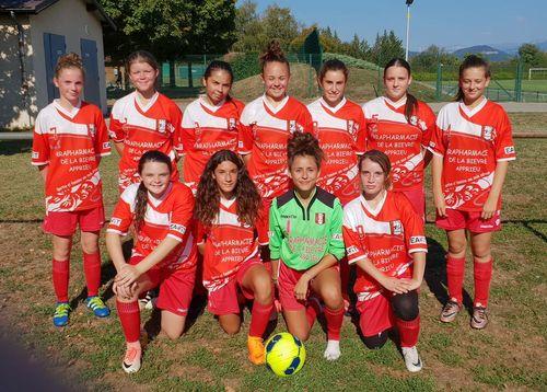U18F Poule C: Lca Foot 38 / Brezins FC