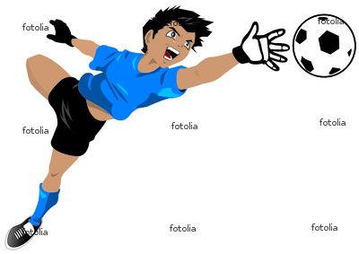 Entrainement gardien de but lca foot 38 club de - Dessin gardien de but ...