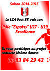 Création d'un pôle espoir U17 - U19