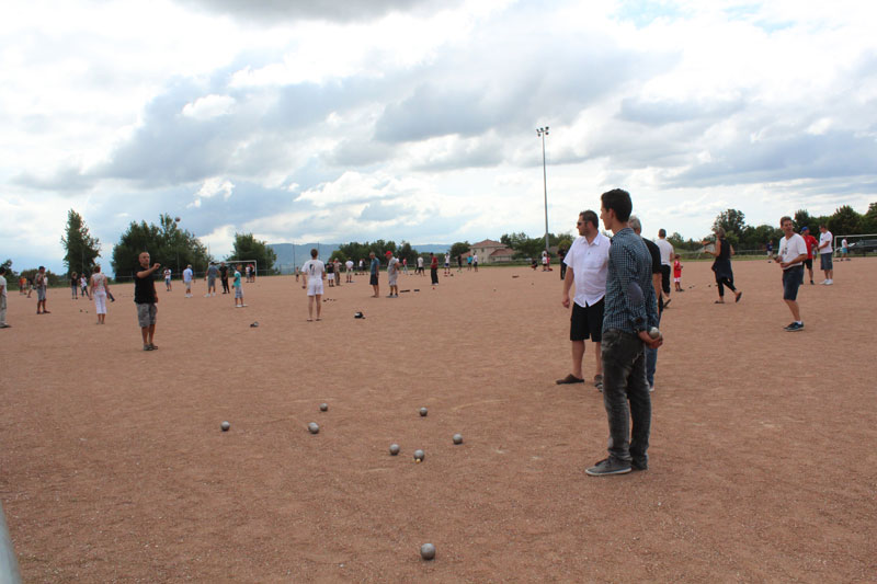 Concours de pétanque   LCA Foot 38 : club de football en Isère
