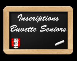 Inscriptions buvette seniors