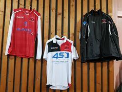 Remise de maillots pour les U15 et U17