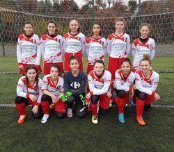 Les U15F leader du championnat
