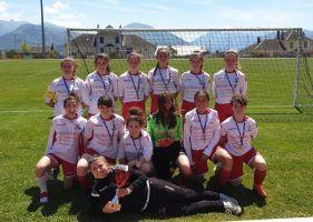 Les Féminine remporte la coupe de l'Isère en U18