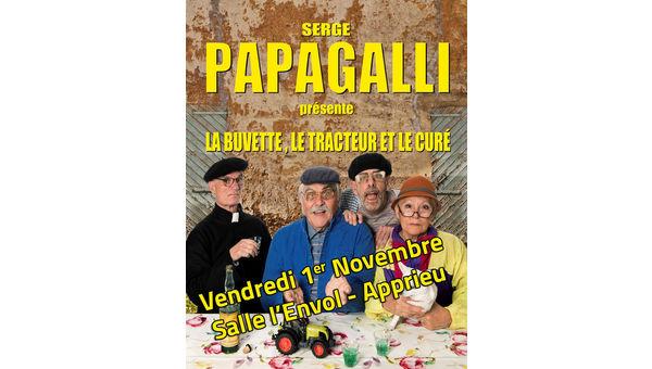 Le LCA Foot 38 présente le nouveau spectacle de Serge Papagalli