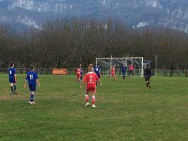 U15 2 - Match à Vinay