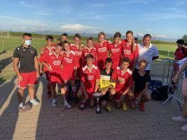 les U15 on effectués 2 tournois le samedi 12 et dimanche 13 septembre à Cornas et Brézins