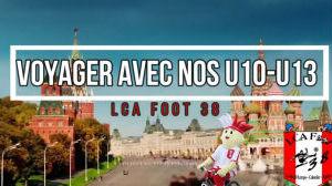 Les U10-U13 confinés au LCA FOOT 38
