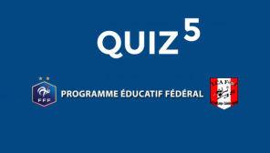 Quiz 5 : santé et fair-play