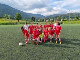 Féminines U18F c'est  la reprise des matchs amical distict