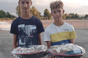 Les vainqueurs du tournoi de pétanque 2021