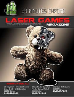 Laser Games - 24 minutes chrono Voiron