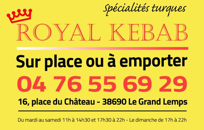 Royal Kebab - LCA Foot 38 : club de football en Isère