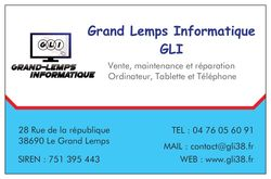 GRAND LEMPS INFORMATIQUE GLI