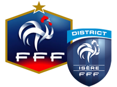 ...Logo FFF - District Isère